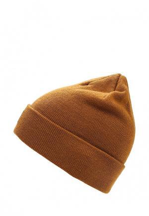 Шапка DC Shoes. Цвет: коричневый