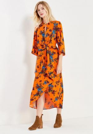 Платье Topshop. Цвет: оранжевый