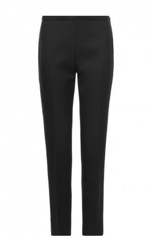 Укороченные шерстяные брюки со стрелками Rochas. Цвет: черный