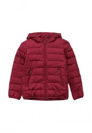 Куртка утепленная Roxy. Цвет: бордовый