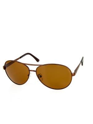 Солнцезащитные очки Dispacci. Цвет: коричневый