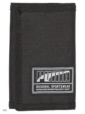Кошелек PUMA Academy Wallet. Цвет: черный
