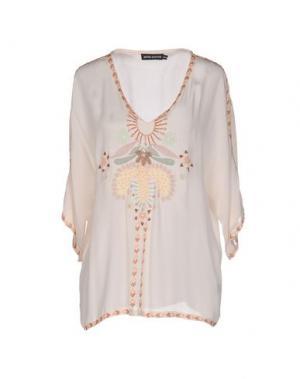 Блузка ANTIK BATIK. Цвет: бежевый