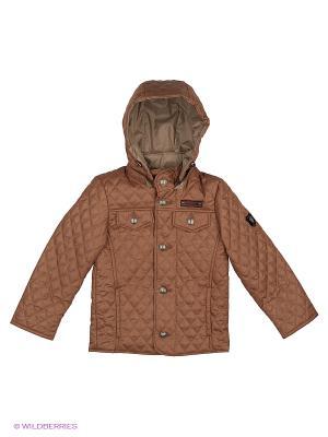 Куртка Disvey. Цвет: коричневый