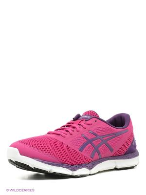 Кроссовки 33-DFA 2 ASICS. Цвет: фиолетовый, розовый, серый