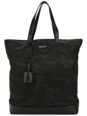Камуфляжная дорожная сумка Saint Laurent. Цвет: чёрный
