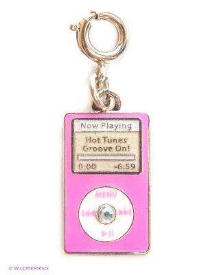 Подвеска на браслет  плеер Ipod CHARM IT. Цвет: розовый