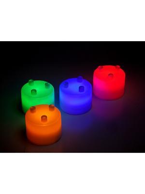 Лампа-ночник из цветных блоков СЕМИЦВЕТИК BRADEX. Цвет: синий