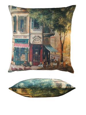 Подушка Gift'n'Home. Цвет: коричневый, голубой, зеленый, красный, светло-коричневый, черный