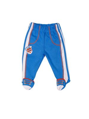 Ползунки Спорт СовенокЯ. Цвет: синий, белый, оранжевый