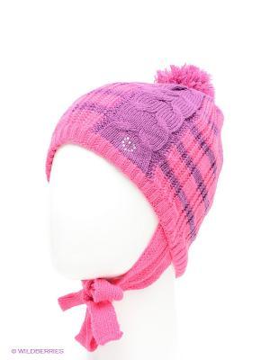 Шапка Maxval. Цвет: розовый, фиолетовый