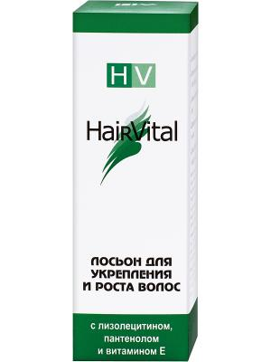 Лосьон для укрепления и роста волос 50 мл. Hair Vital. Цвет: зеленый, белый