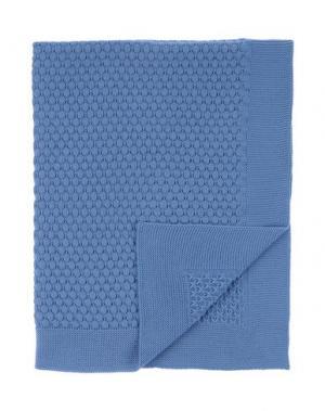 Одеяльце для младенцев MIMISOL. Цвет: лазурный