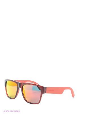 Солнцезащитные очки CARRERA. Цвет: фуксия, рыжий