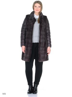 Куртка PRIMA WOMAN. Цвет: черный, темно-фиолетовый
