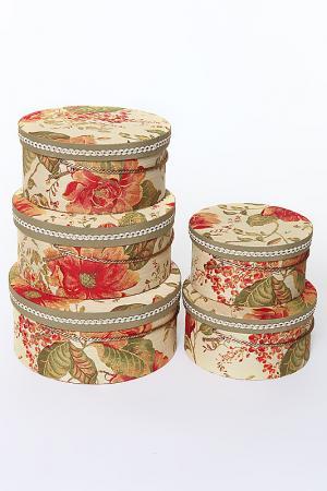 Коробочки шляпные набор 5 пр. Jennifer Taylor. Цвет: мультицвет