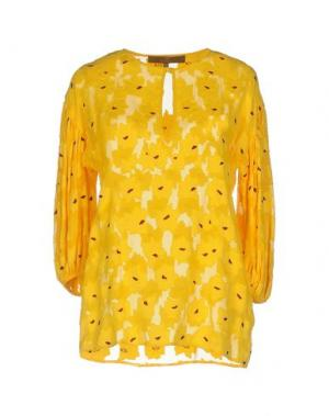 Блузка AU SOLEIL DE SAINT TROPEZ. Цвет: зеленый-милитари