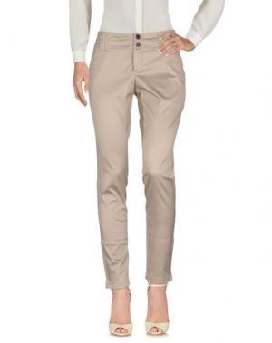 Повседневные брюки STRENESSE. Цвет: голубиный серый