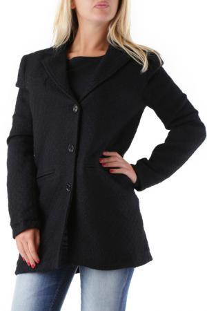Пальто 525. Цвет: черный