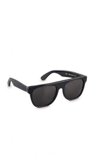 Большие солнцезащитные очки Flat Top Super Sunglasses