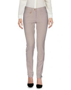 Повседневные брюки PAMELA HENSON. Цвет: голубиный серый