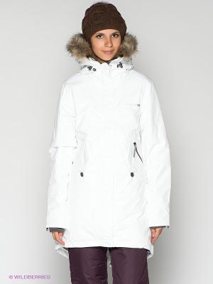 Куртка Lindsey DIDRIKSONS. Цвет: белый