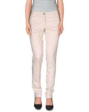 Повседневные брюки VERYSIMPLE. Цвет: слоновая кость