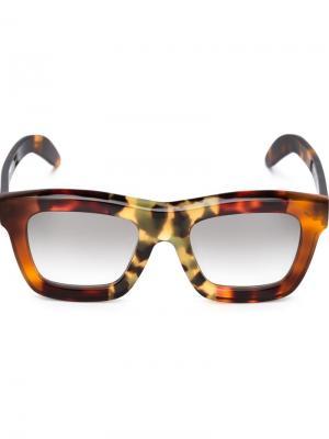 Солнцезащитные очки C7 Mask Kuboraum. Цвет: чёрный