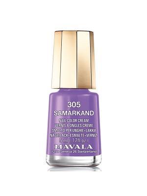 Лак для ногтей тон 305 Samarkand Mavala. Цвет: фиолетовый