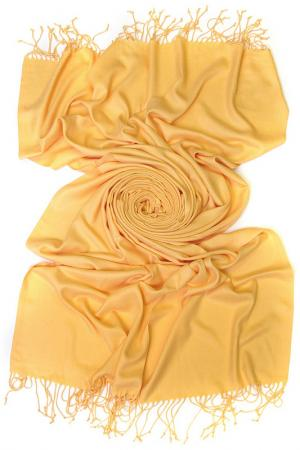 Палантин Frantelli. Цвет: песок желтый