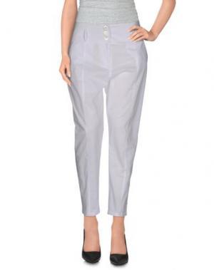 Повседневные брюки LIVIANA CONTI. Цвет: белый