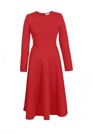 Платье Bella Kareema. Цвет: красный