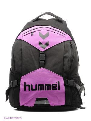 Рюкзак TECHNICAL BACK PACK HUMMEL. Цвет: черный, сиреневый