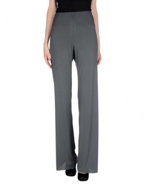 Повседневные брюки SML. Цвет: свинцово-серый