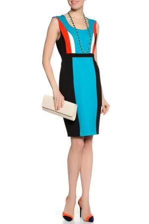 Платье Plenty by Tracy Reese. Цвет: черный, бирюзовый