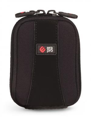 Era Pro Чехол для фотоаппарата EP-010906  9х6х2 см., чер. Цвет: черный