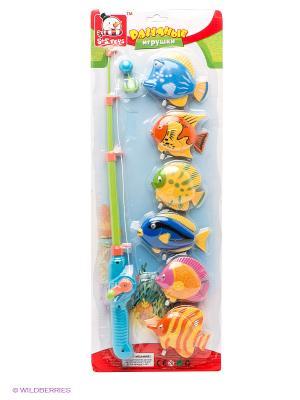 Игровой набор Рыбалка S-S. Цвет: оранжевый, синий