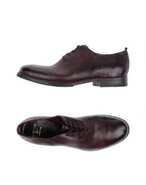 Обувь на шнурках SARTORI GOLD. Цвет: красно-коричневый