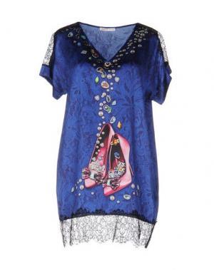 Блузка EAN 13. Цвет: темно-синий