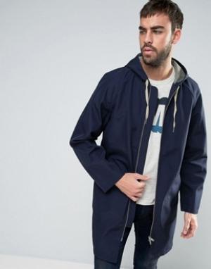 YMC Спортивное пальто. Цвет: темно-синий