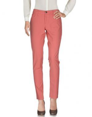 Повседневные брюки TRUE RELIGION. Цвет: лососево-розовый