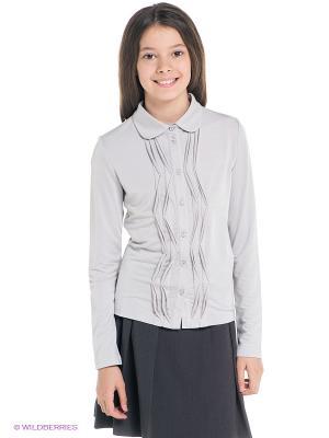 Блузка SILVER SPOON. Цвет: серый