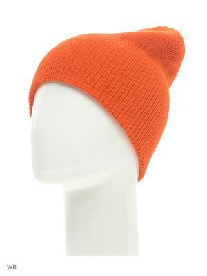 Шапка Quiksilver. Цвет: оранжевый, рыжий