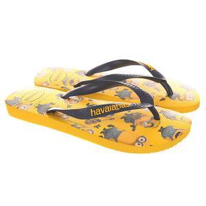 Вьетнамки  Minions Yellow Havaianas. Цвет: желтый
