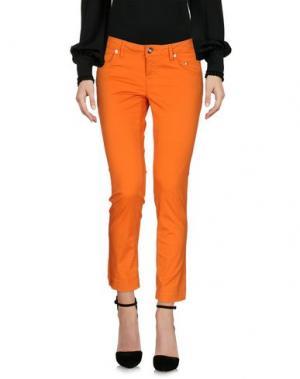 Брюки-капри SIVIGLIA. Цвет: оранжевый