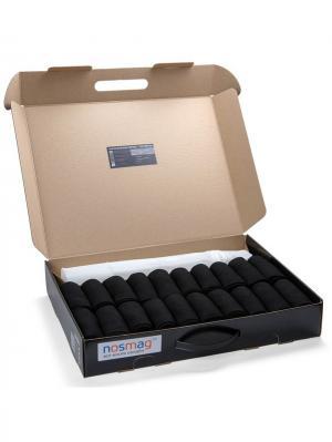 Набор носков Бизнес в кейсе 20 пар, с мешком для стирки NosMag. Цвет: черный, хаки