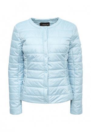 Куртка утепленная Baon. Цвет: голубой