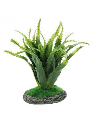 Растение Алоэ 200мм. REPTI-ZOO. Цвет: зеленый