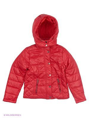 Куртка дев. INCITY. Цвет: красный