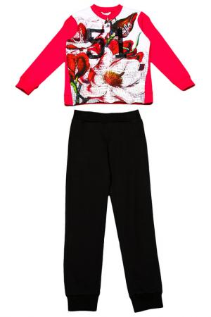 Комплект: джемпер, брюки Dodipetto. Цвет: мультицвет